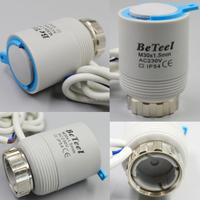 pex radiant floor manifold electric thermal actuator