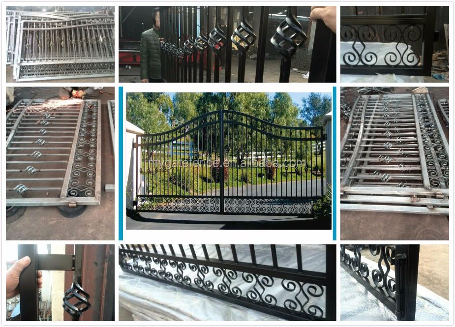 Yishujia Factory Cheap China Big Iron Gate,Beautiful House Gates ...
