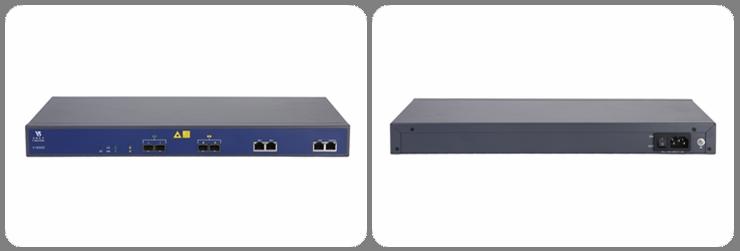 1U 19 inch rack mount 2 pon port FTTH olt/peralatan GPON
