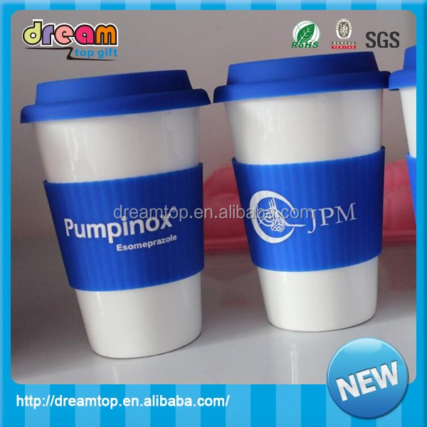 Resistant Silicone Coffee Cup Sleeve Silicone Cup Holder