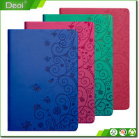 Hardcover Style custom paper refillable leather custom notebook