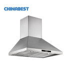 ETL Certified US Popular Canopy Powerful Range hood, With Stainless Steel Baffle Filter, Ductless available