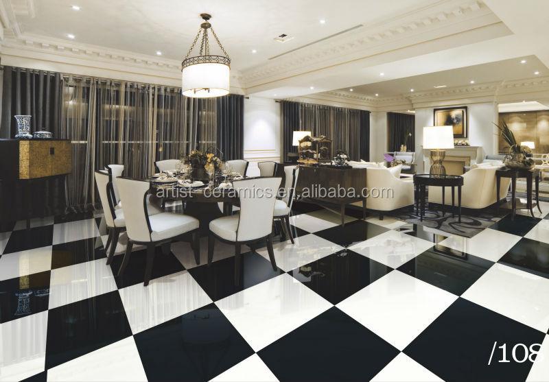 Tessera in bianco e nero pavimento nero pista da ballo in for Pavimento bianco e nero