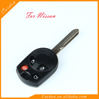 Replace Key Shell Remote Key cover Fob 4 BTN fit for FORD Flex Mustang Edge Escape Expedition Explorer Focus