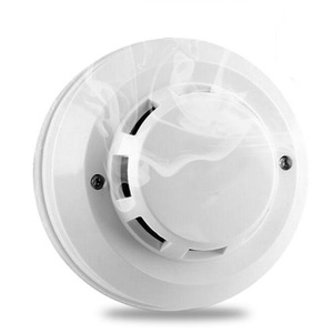 Manufacturer WholeSale Factory price OEM 2 Wire Network Fire Smoke Security  Alarm Fire detector with optical Sensor