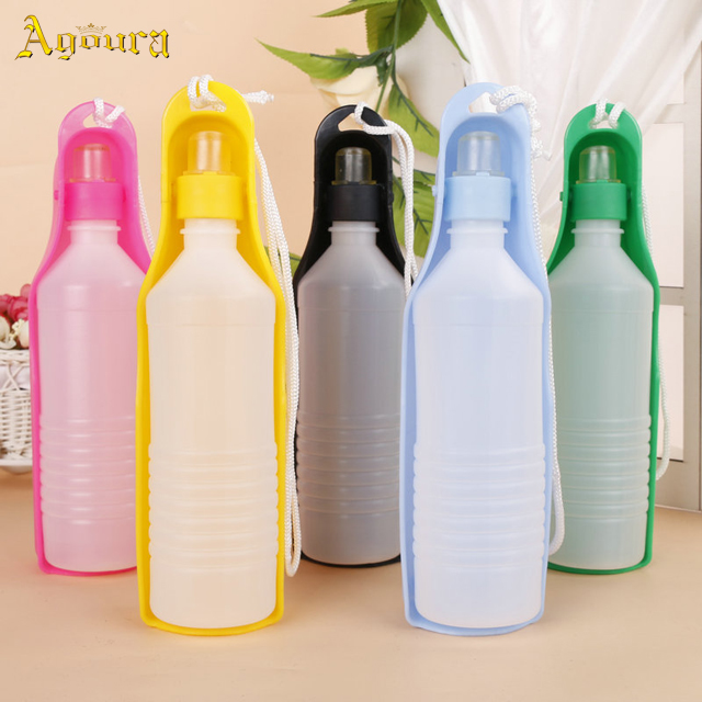 Customized New design outdoor portable dog drinking bottles