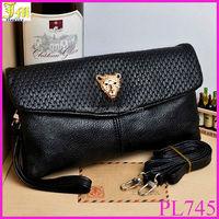High Quality Women Double Zipper Wallet Soft PU Leather Purse Lady Shoulder Bags Handbag Mobile Keys Bag Wallets