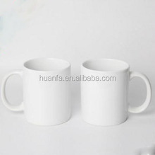 High Quality 11 oz white coated blank coffee mug ceramic sublimation mugs printing mugs with good offer