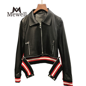 Timely Delivery Polish Pakistan Jacket Leather Coat Adults Age Stylish Women Sheep Nappa Leather Jacket