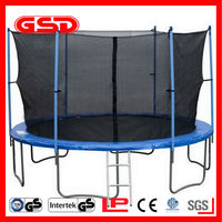 2012 GSD 15ft trampoline with safety net have CE and GS for Germany