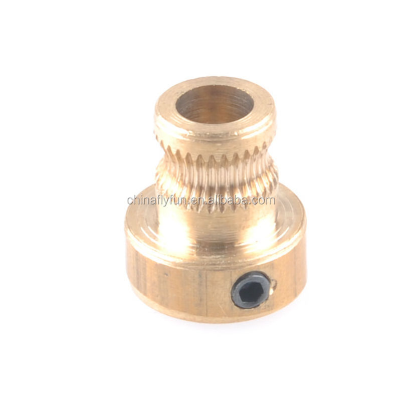 3D Printer Copper <strong>Gear</strong> Wheel for Reprap Mendel 3.0mm Filament