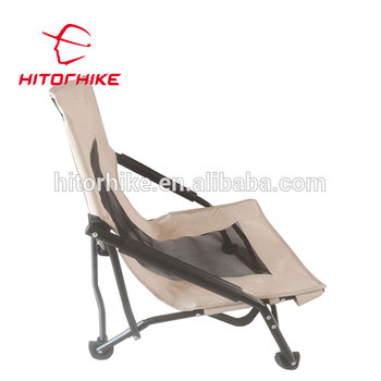 Hiohike Low Gravity Beach Chair Lumbar Support Outdoor Folding Chair