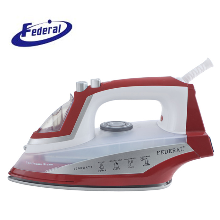 2016 new steam <strong>iron</strong> with cleaning hole soleplate steam <strong>iron</strong> brands electrical appliances from Cixi factory