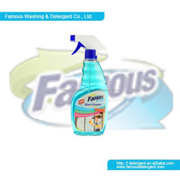 Famous 500ml disinfectant liquid glass cleaner transparent