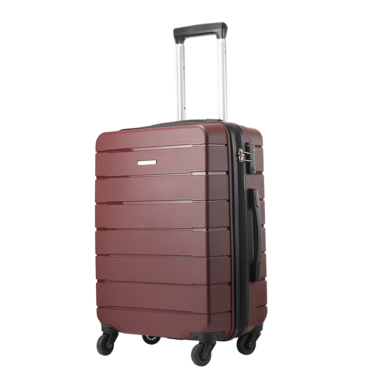 Custom 3 pcs handle pp suitcase cases travelling bags luggage sets carry-on trolley bag