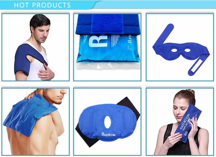 """Mundo-Bio Terapia Fria Wrap (Regular) com 14 """"Strap-por Mão, Pé, pulso, Cotovelo"""