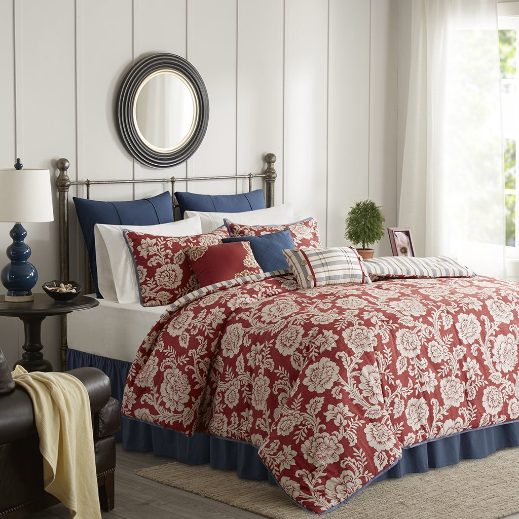 Cheap Red Floral Comforter Find Red Floral Comforter Deals On Line