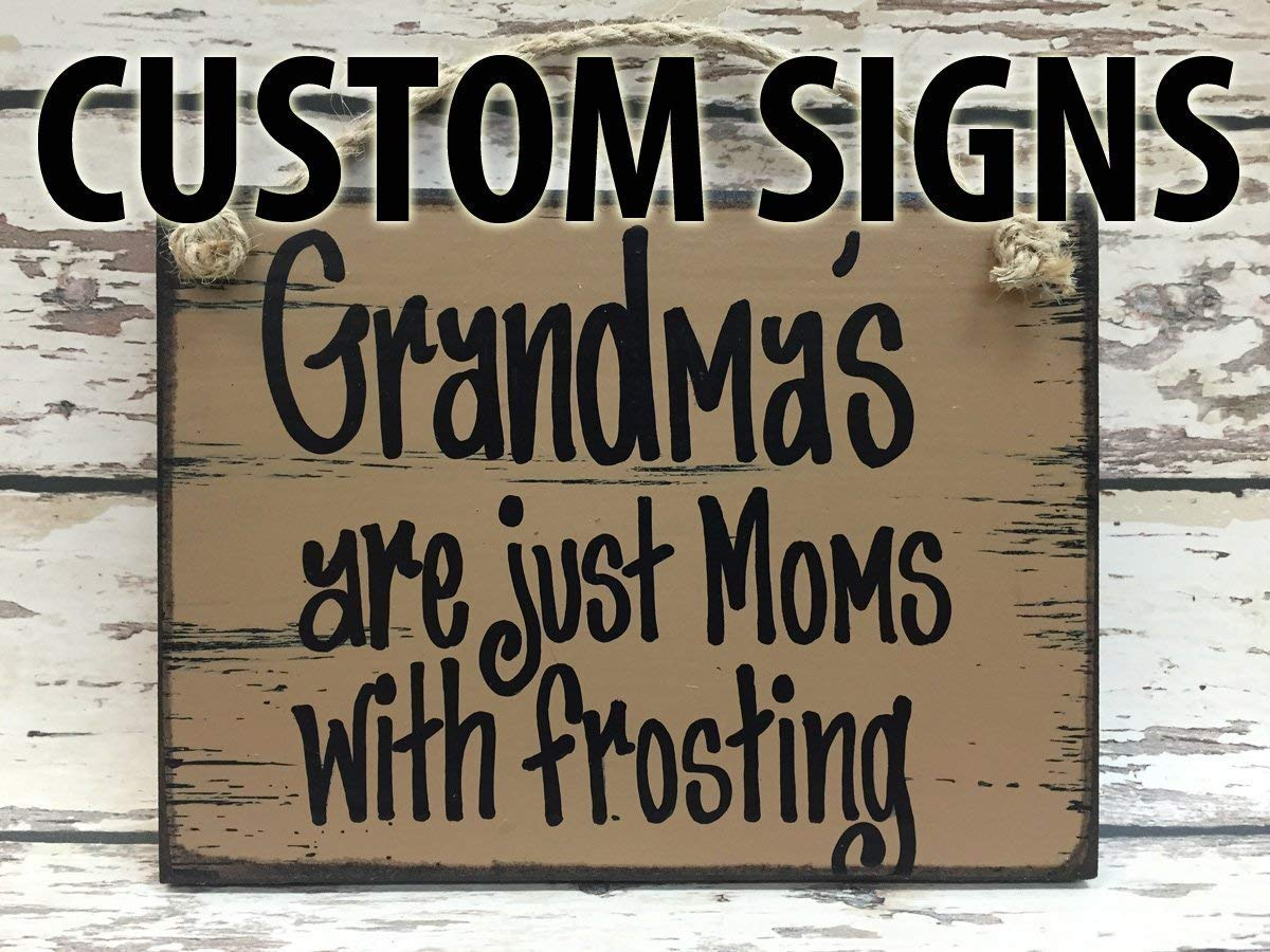 CUSTOM PERSONALIZED Wood 6x8 Reclaimed Wall Sign *Distressed Wood Wall Sign *Blue, Antique Cream White, Tan Brown *Customize your own saying! Make a perfect gift for someone special!