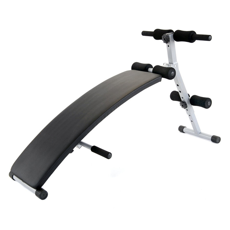 Abdominal Workout Adjustable Curve Sit Up Bench For Sale