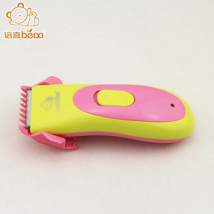 Custom logo plastic kids hair clipper