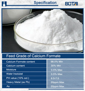 Calcium formate 98.0%min for building industry