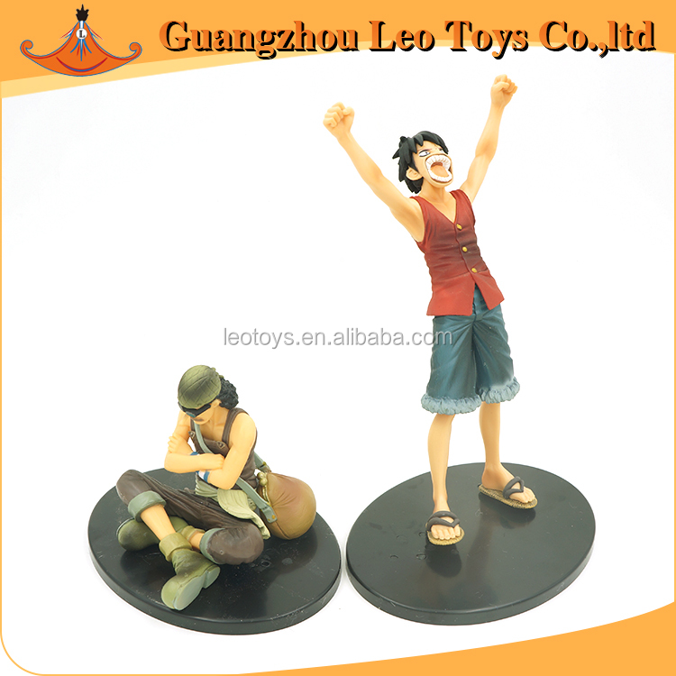 Custom Anime Action Toy Luffy And Usopp Japanese Young Boy Figure