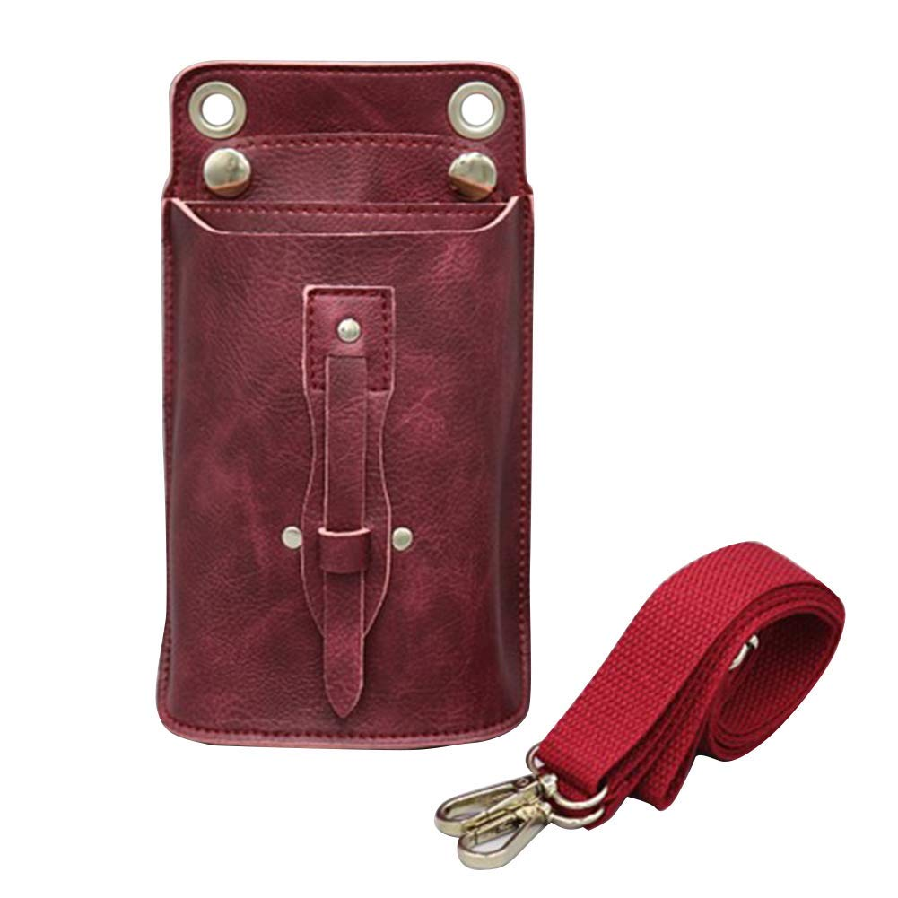 Pu Leather Hairdressing Tools Bags Hair Scissor Bag Case Waist Pack Pouch Holder Hair Styling Tools Accessories Wide Varieties Hair Care & Styling Beauty & Health