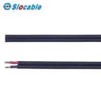 XLPE PVC Insulated UV Resistant Twin Core Solar Cable 2.5mm2 for Solar Ground Connector
