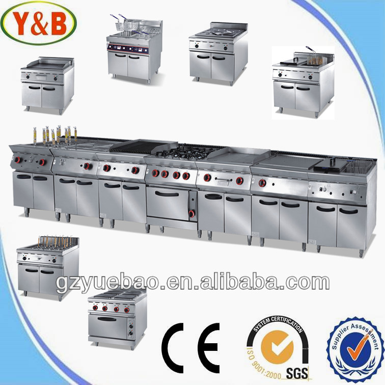Restaurant kitchen equipment gas combination oven with for Equipement hotellerie restauration