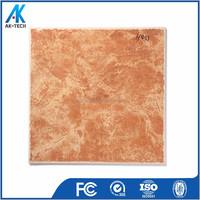 porcelain red marble floor tile , design building material tile
