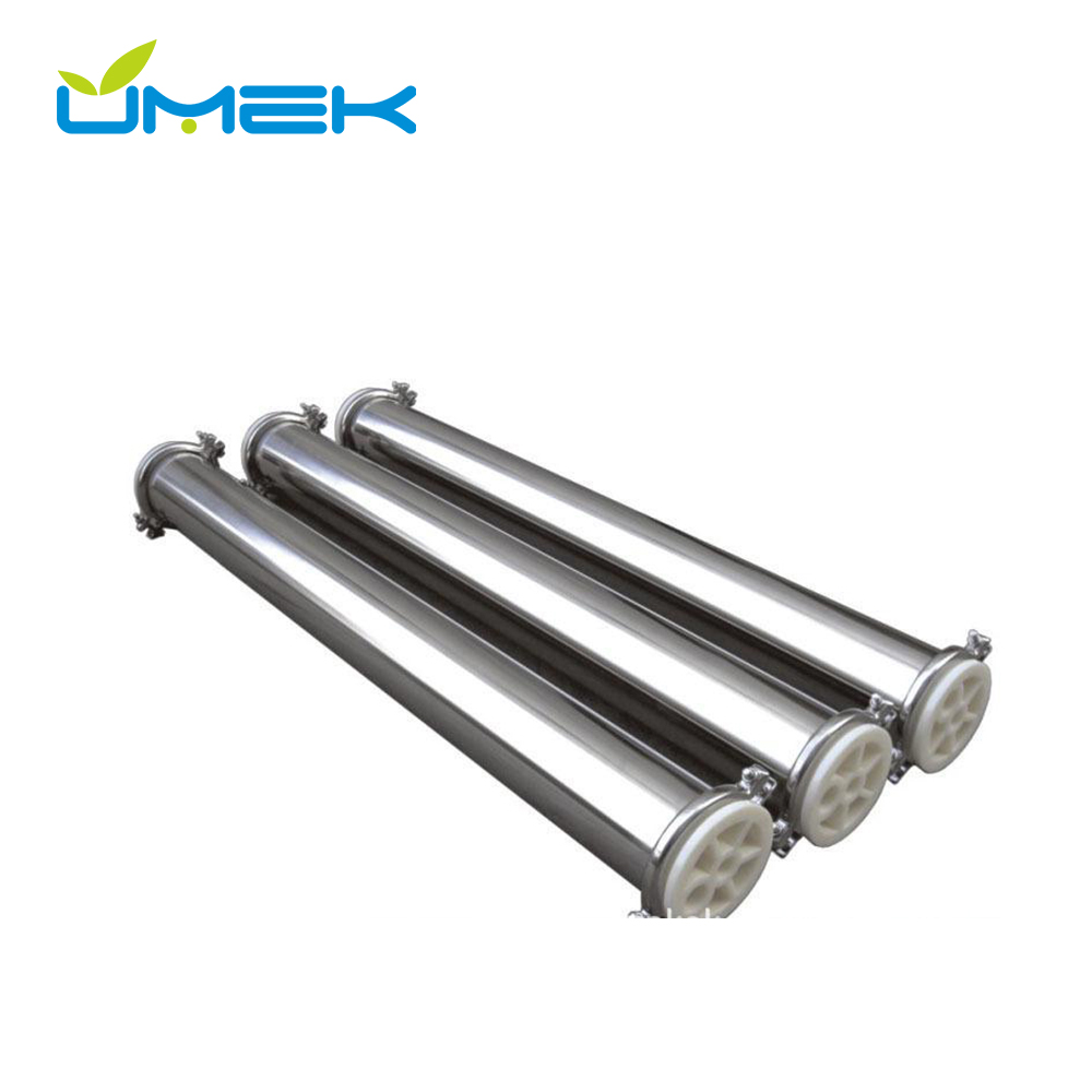 Seamless Stainless Steel 4040 ss RO pressure vessel membrane housing