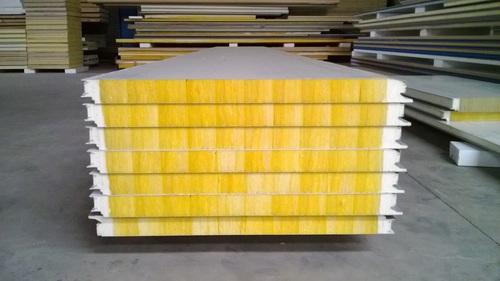Rock Wool Mineral Wool Glass Wool Sandwich Panels With