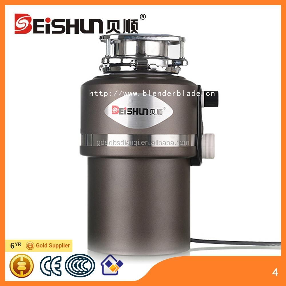 Alimentaire broyeur de déchets avec interrupteur dair sous évier broyeur appareil de