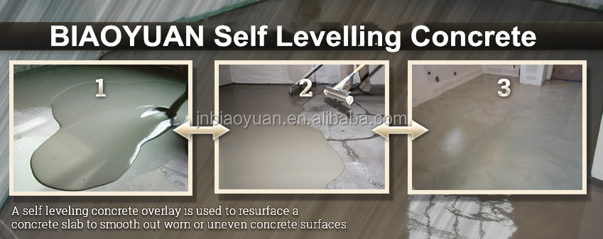 high-grade compound formulation self-leveling cement