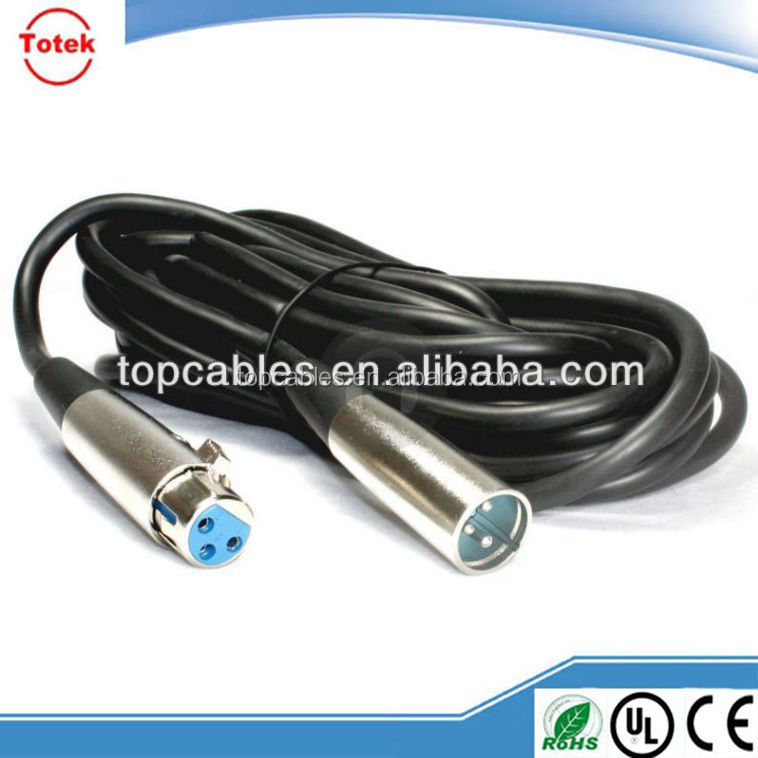 Cable XLR to Right angle 3.5mm TRS