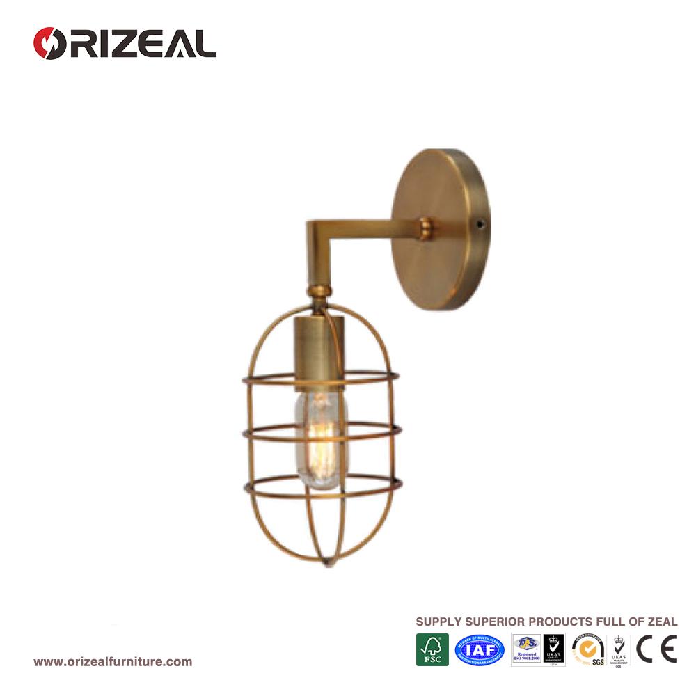 Loft Style Vintage Brass Wall Lights Oz-al533