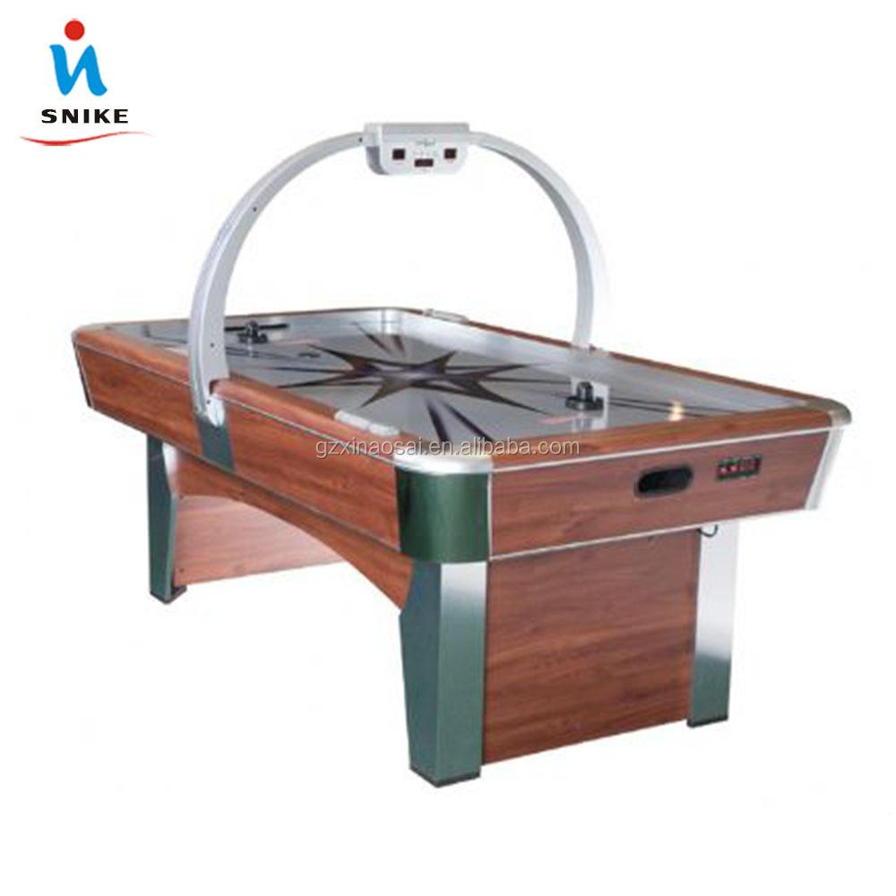 Popular Air Hockey Power Hockey Table Cheap MDF Or Wooden Air Hockey Tables