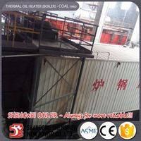 New Fluidized Bed Coal Thermal Oil Boiler