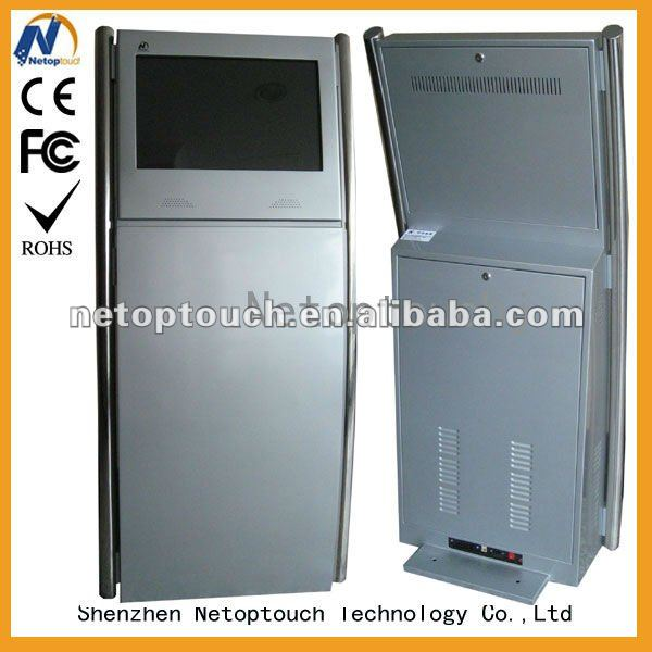 Touch screen interactive lcd digital kiosk