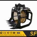 excavator rotary screen bucket fit for 16T excavator