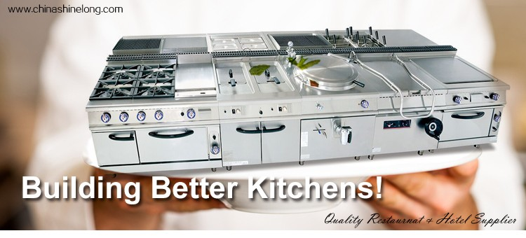 Chinese Restaurant Kitchen Equipment furnotel professional stainless steel commercial chinese