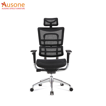 Ergohuman Chair Leather Arm Swivel Relaxation Office