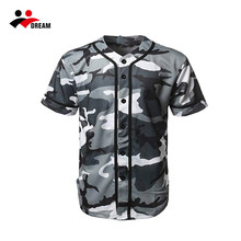 Custom Design Digitale <span class=keywords><strong>Camo</strong></span> Baseball Jersey