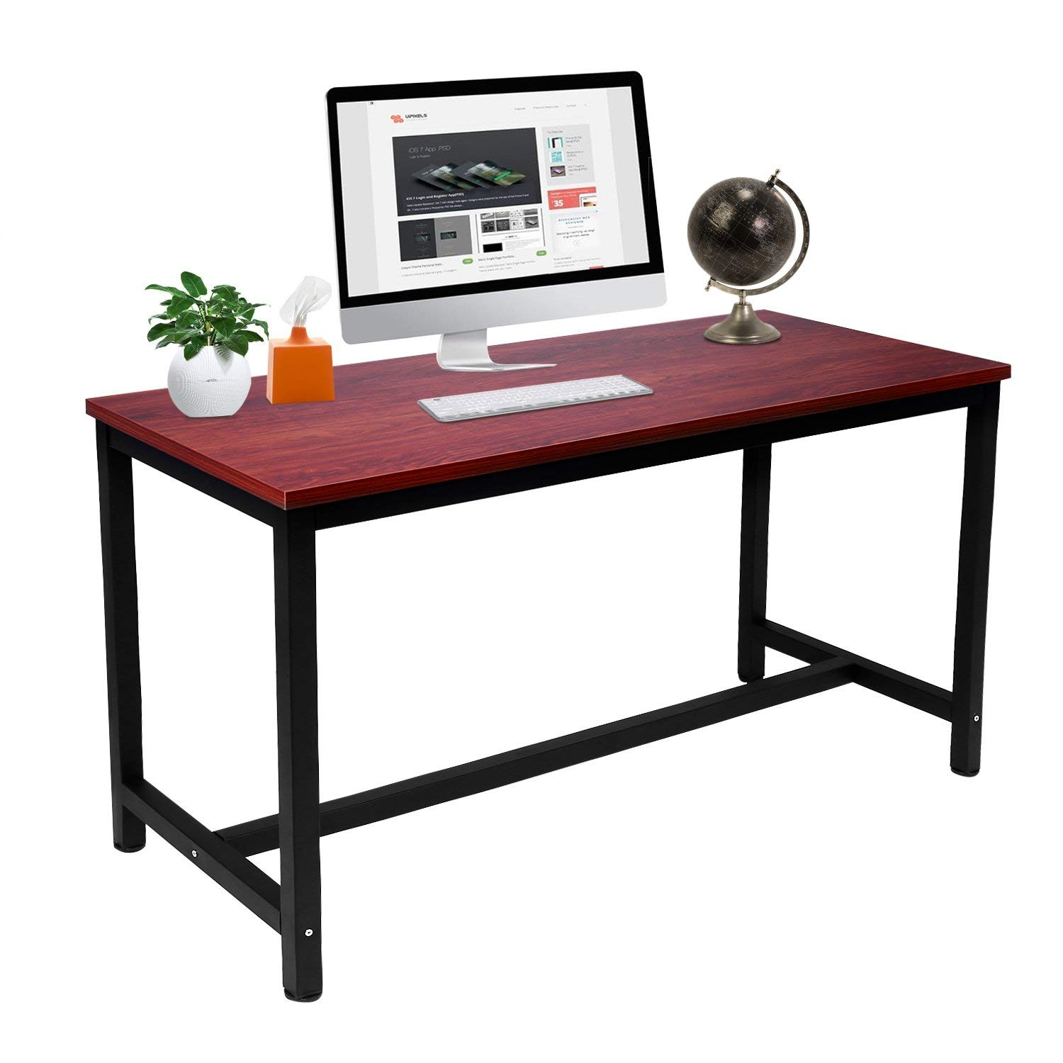 Get Quotations Vintage Computer Desk, Mdf Study Writing Table, Pc