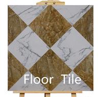 600x600 mét kích thước không-trượt bên ngoài mộc mạc màu xám 24x24 inch gạch lát sàn bằng gốm