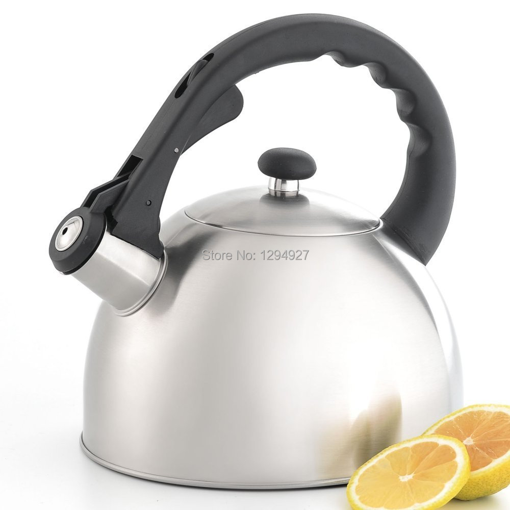 cheap whistling electric tea kettle find whistling electric tea  - get quotations ·  free shipping ss  stainless steel water teawhistling kettle teapot pot lfgb real bouilloire