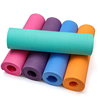China hot products washable multi color foldable oem thick yoga mat with carrying strap