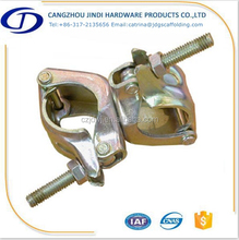 scaffolding system BS1139 pressed double coupler