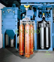 Hanger Shot Blasting Machines for Vehicles CNG Tanks