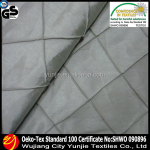 OEKO-TEX Nylon Polyester Pintuck Tablecloth Fabric